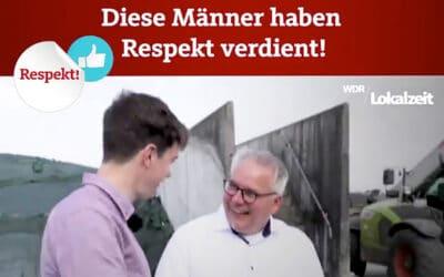 """WDR Lokalzeit Münsterland: """"Diese Männer haben Respekt verdient!"""""""